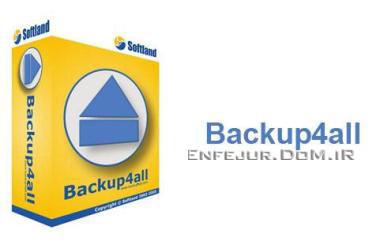 تهیه نسخه پشتیبان از فایلهای خود با Backup4all Professional 4.2 Build 152